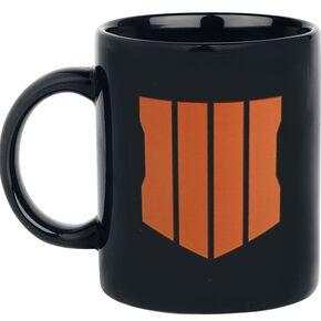 Call Of Duty Black Ops 4 - Logo Mug noir