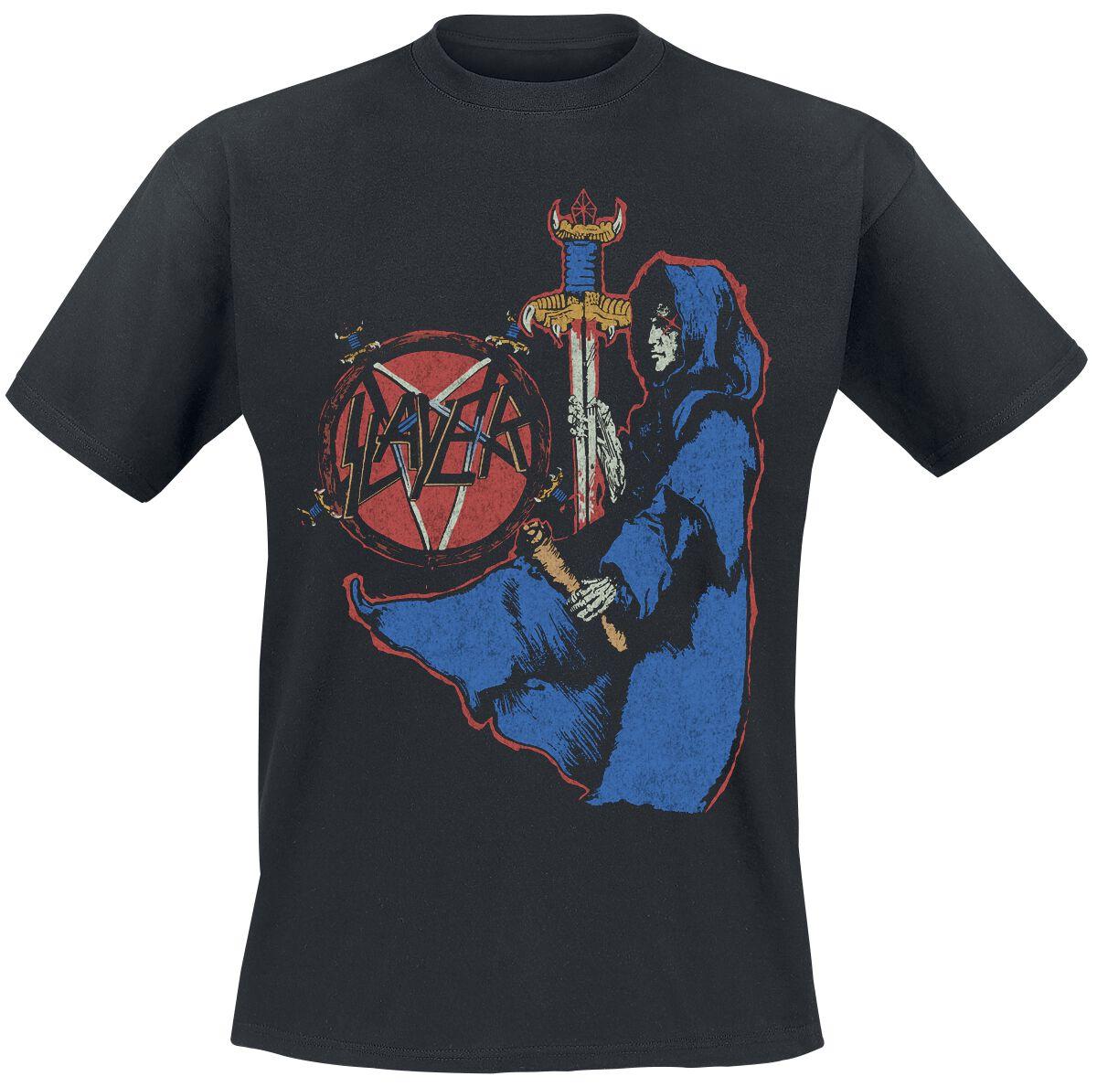 Image of   Slayer Spill The Blood T-Shirt sort