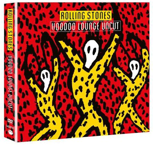 Image of   The Rolling Stones Voodoo lounge uncut DVD & 2-CD standard