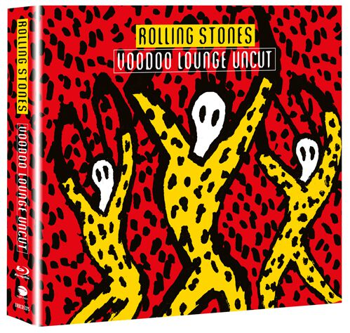 Image of   The Rolling Stones Voodoo lounge uncut Blu-ray & 2-CD standard
