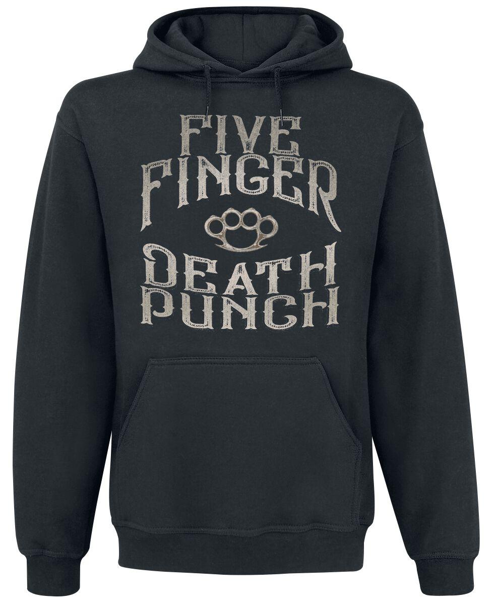 Image of   Five Finger Death Punch 100 Proof Hættetrøje sort
