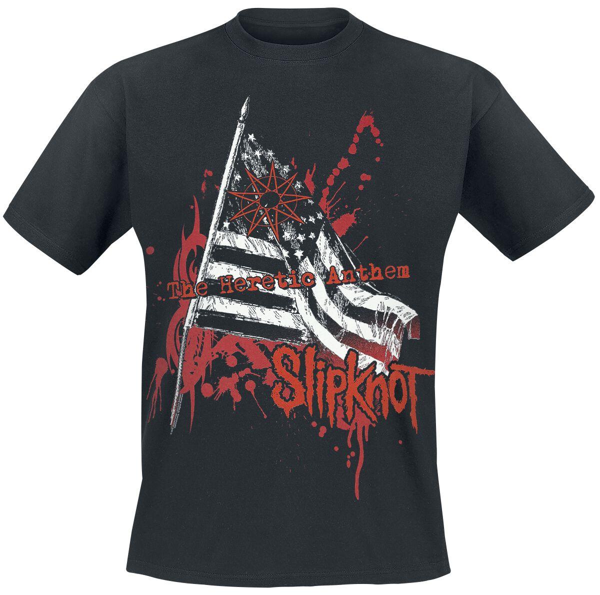 Image of   Slipknot Heretic anthem T-Shirt sort
