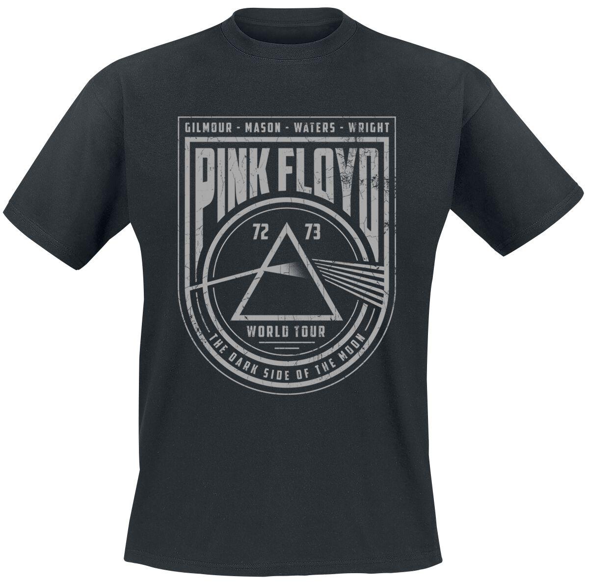 Image of   Pink Floyd World Tour T-Shirt sort