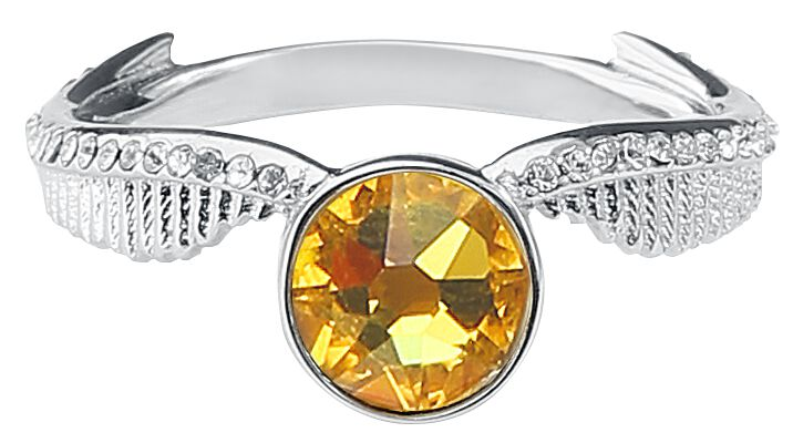 Image of   Harry Potter Golden Snitch Ring sølvfarvet