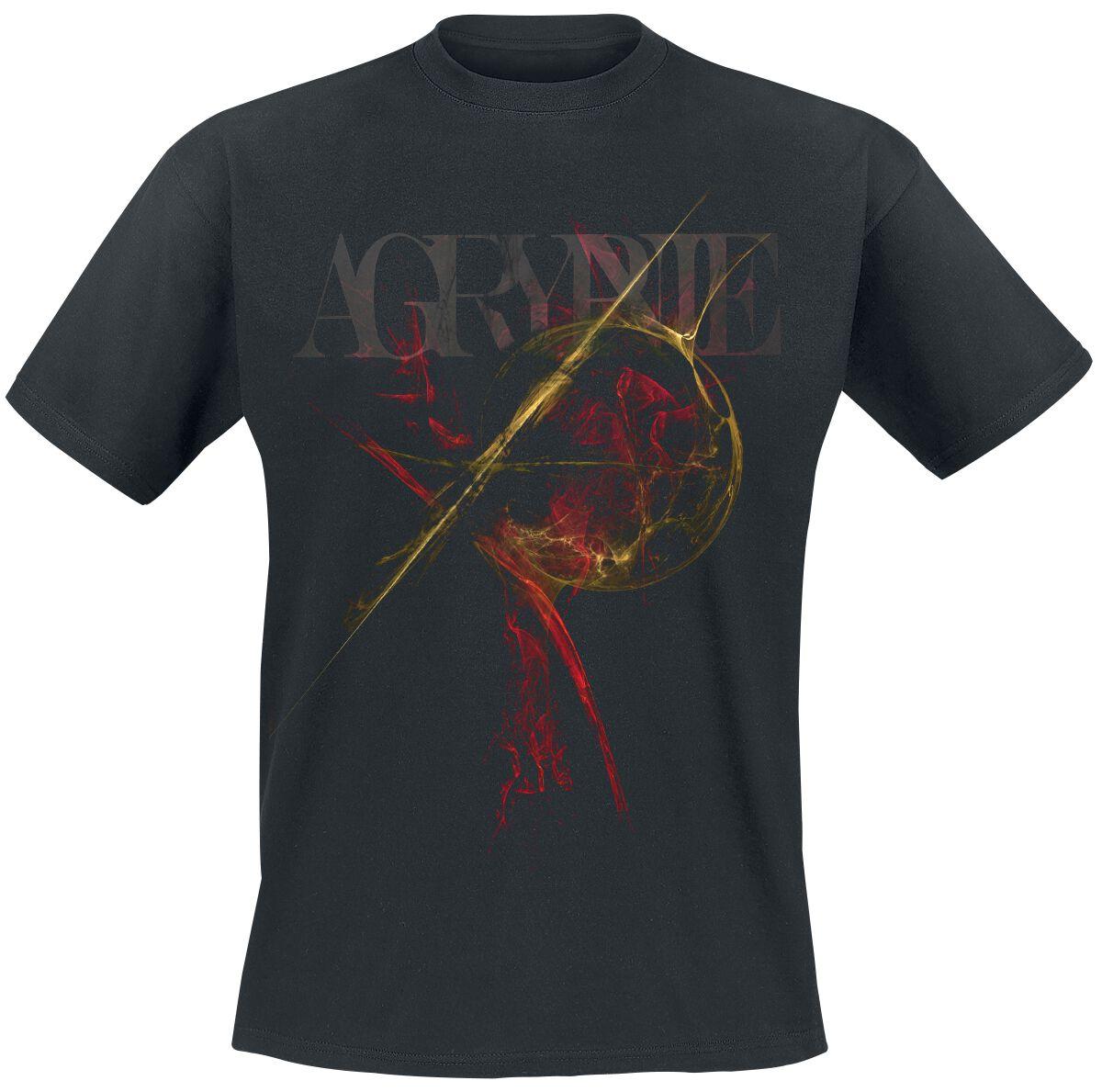 Image of   Agrypnie Grenzgaenger T-Shirt sort
