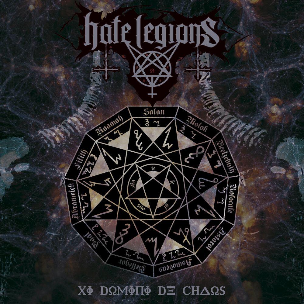 Image of   Hate Legions XI domini de chaos CD standard