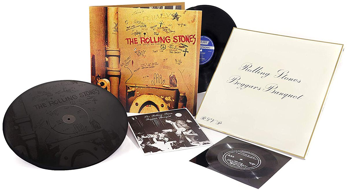 Image of   The Rolling Stones Beggars banquet 3-LP standard