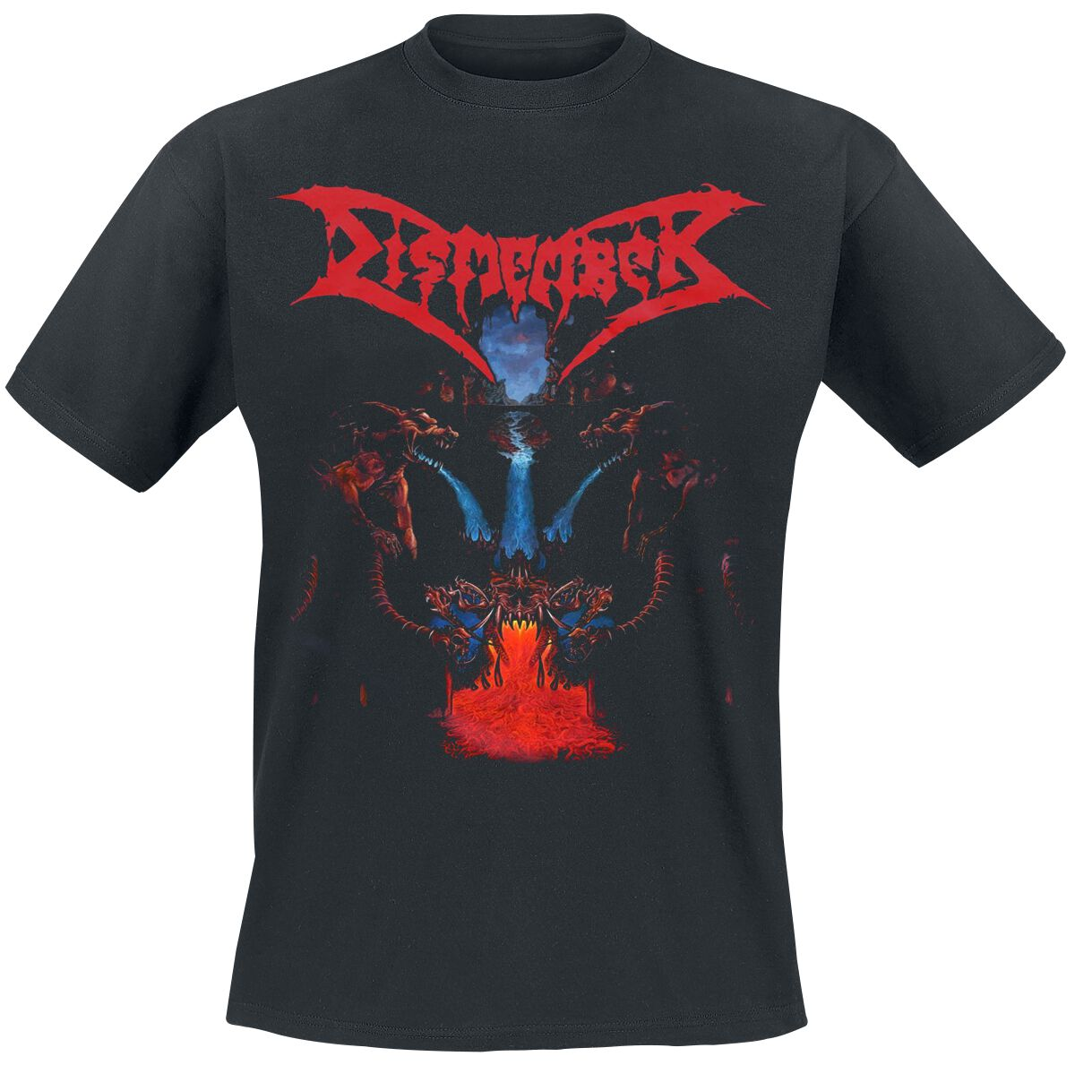 Image of   Dismember Like an everflowing stream T-Shirt sort