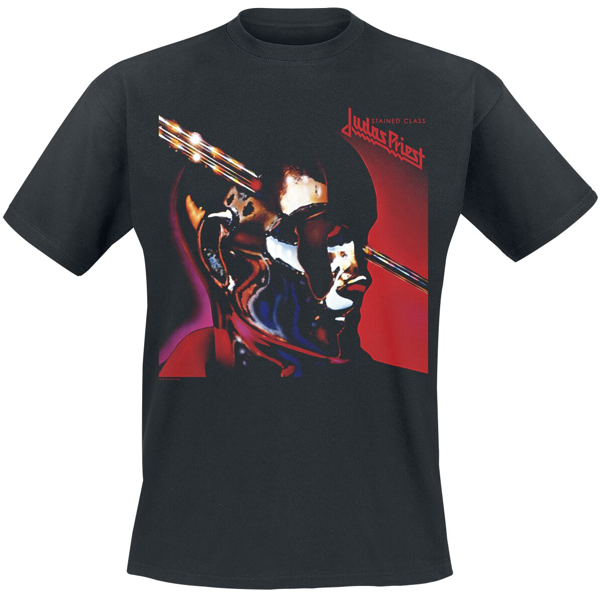 Image of   Judas Priest Stained class T-Shirt sort