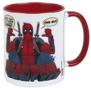Deadpool 2 Thumbs Mug blanc/rouge