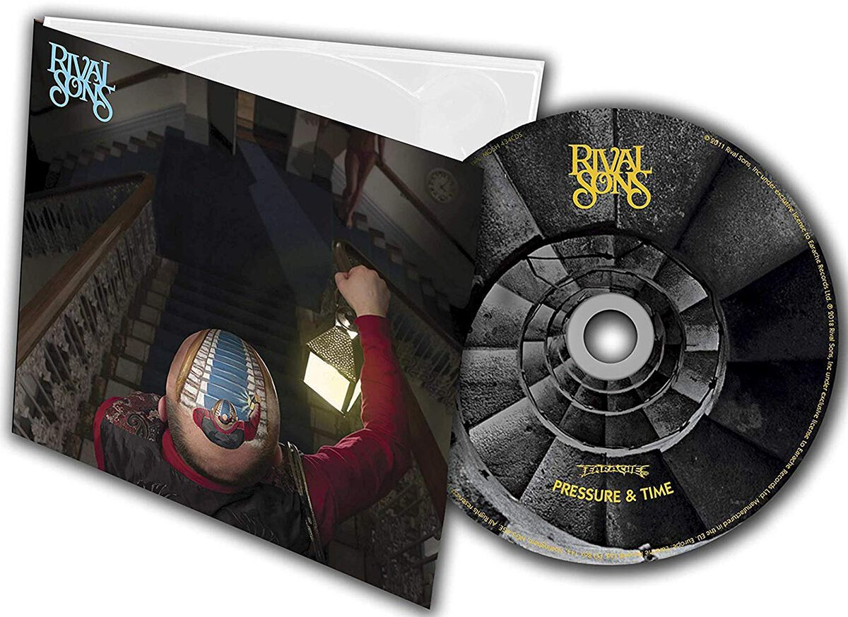 Image of   Rival Sons Pressure and time CD standard
