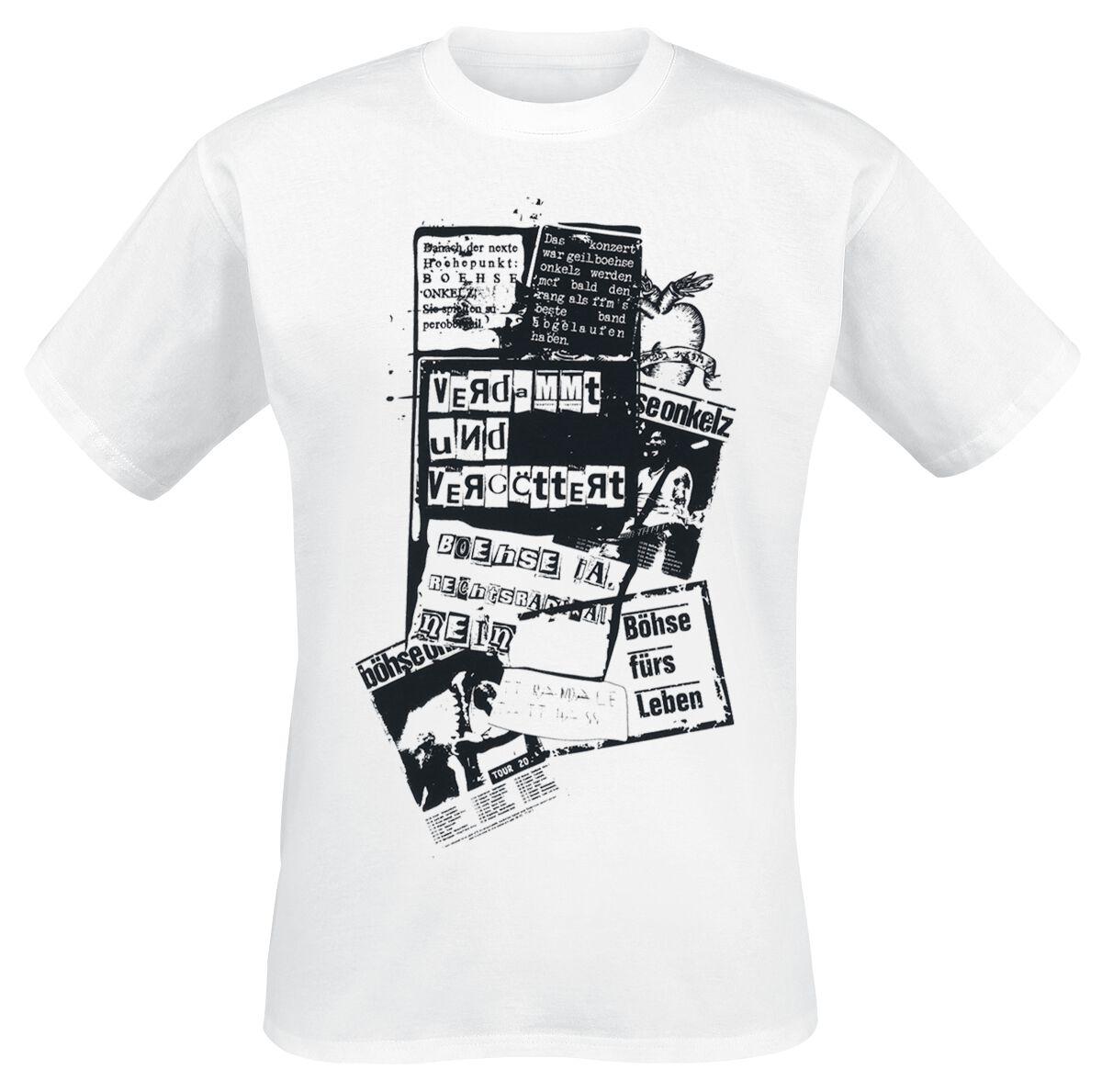 Image of   Böhse Onkelz Böhse für's Leben T-Shirt hvid
