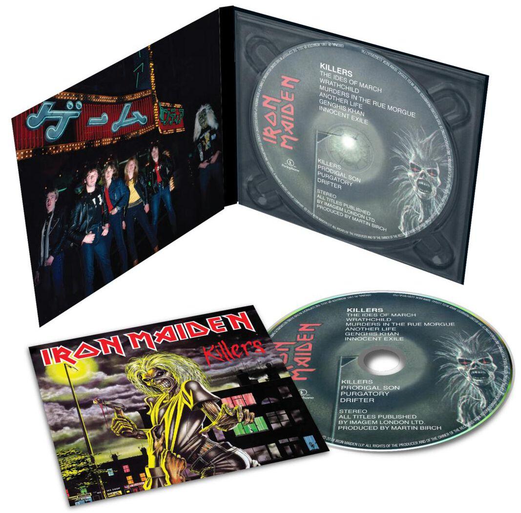 Image of   Iron Maiden Killers CD standard