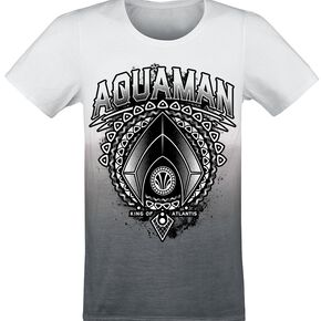 Aquaman King Of Atlantis T-shirt blanc/gris