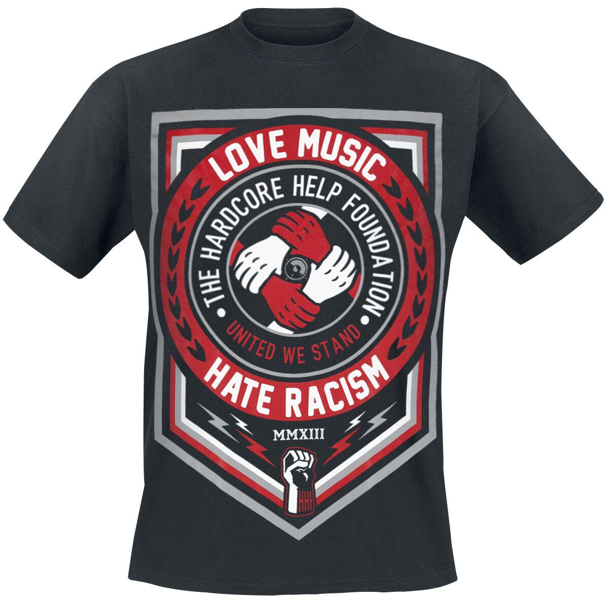 Image of   Hardcore Help Foundation Classic Logo T-Shirt hvid