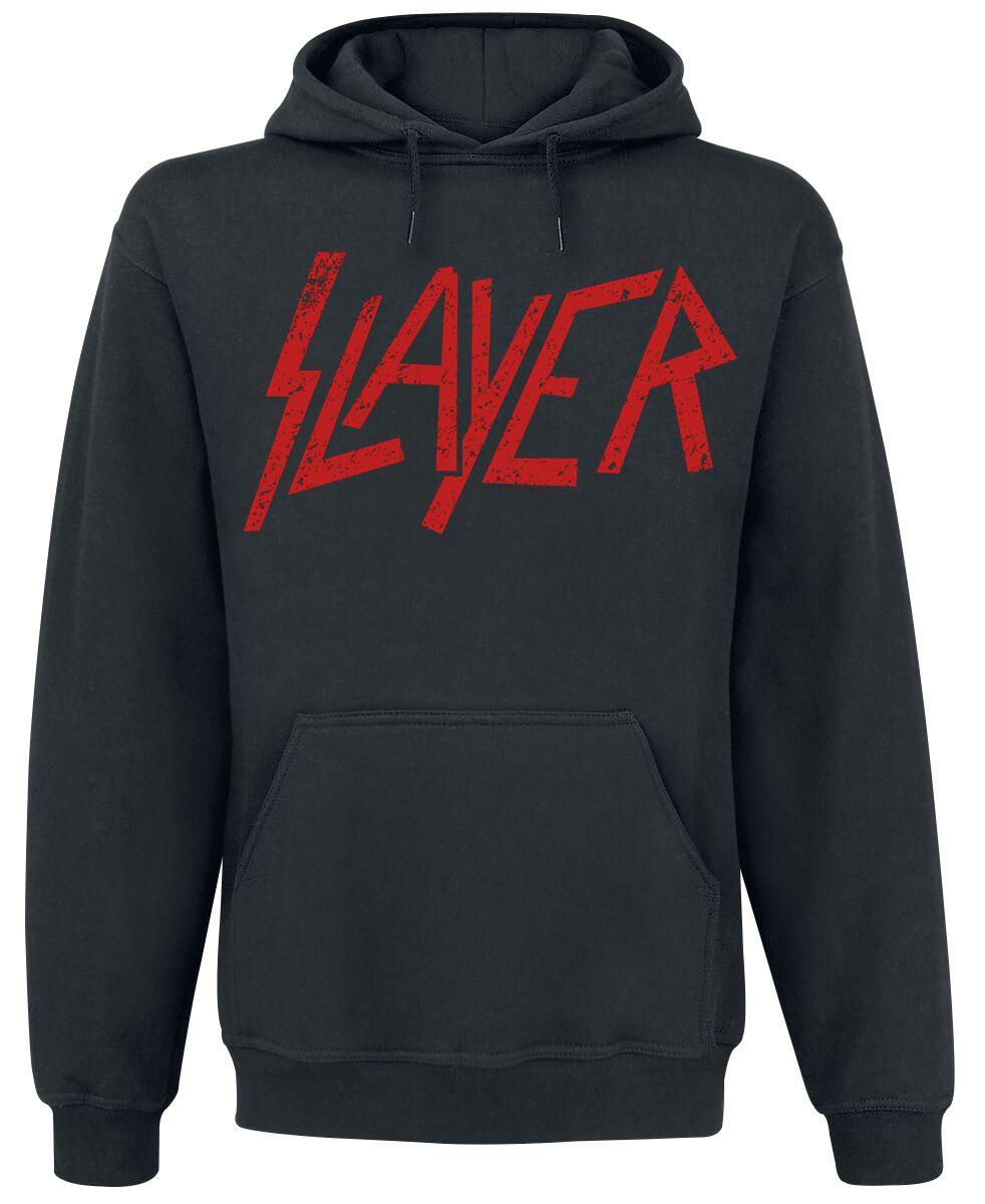 Image of   Slayer Logo Hættetrøje sort