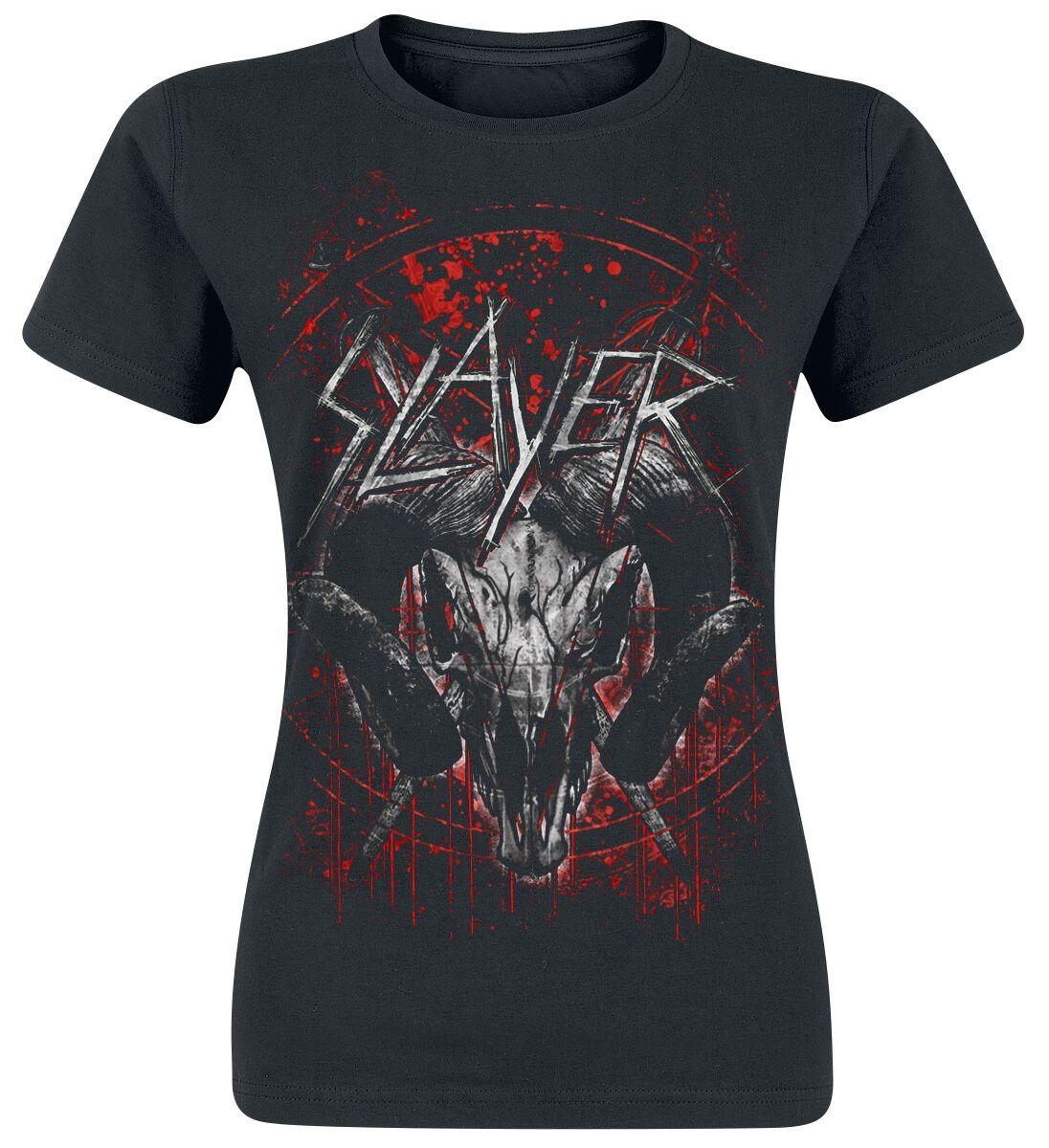 Image of   Slayer Mongo Goat Girlie trøje sort
