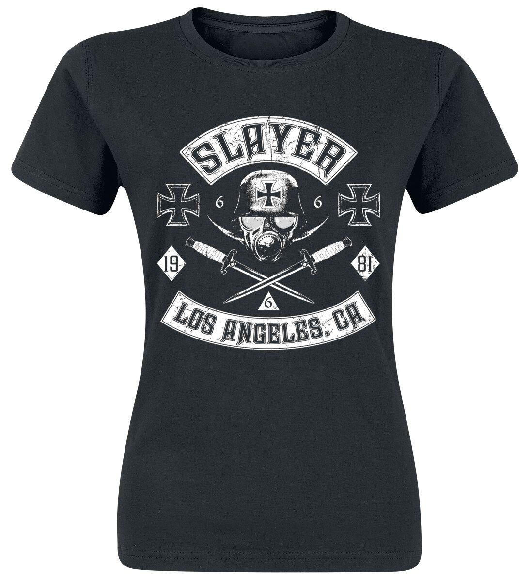 Image of   Slayer Tribe Girlie trøje sort