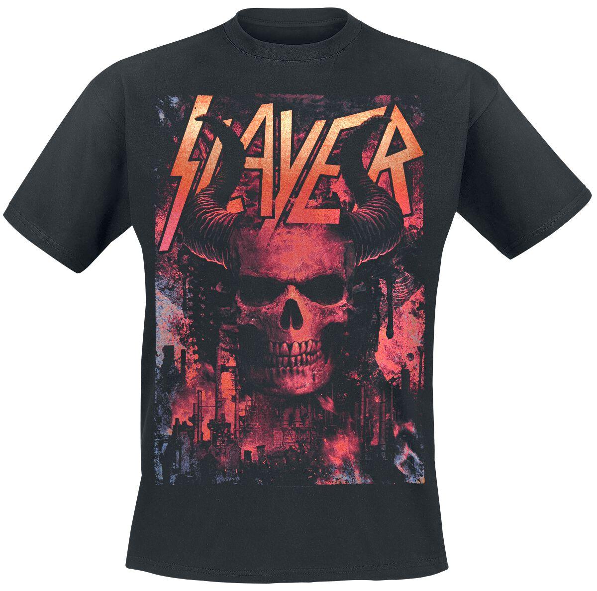 Image of   Slayer Industrial Demon T-Shirt sort