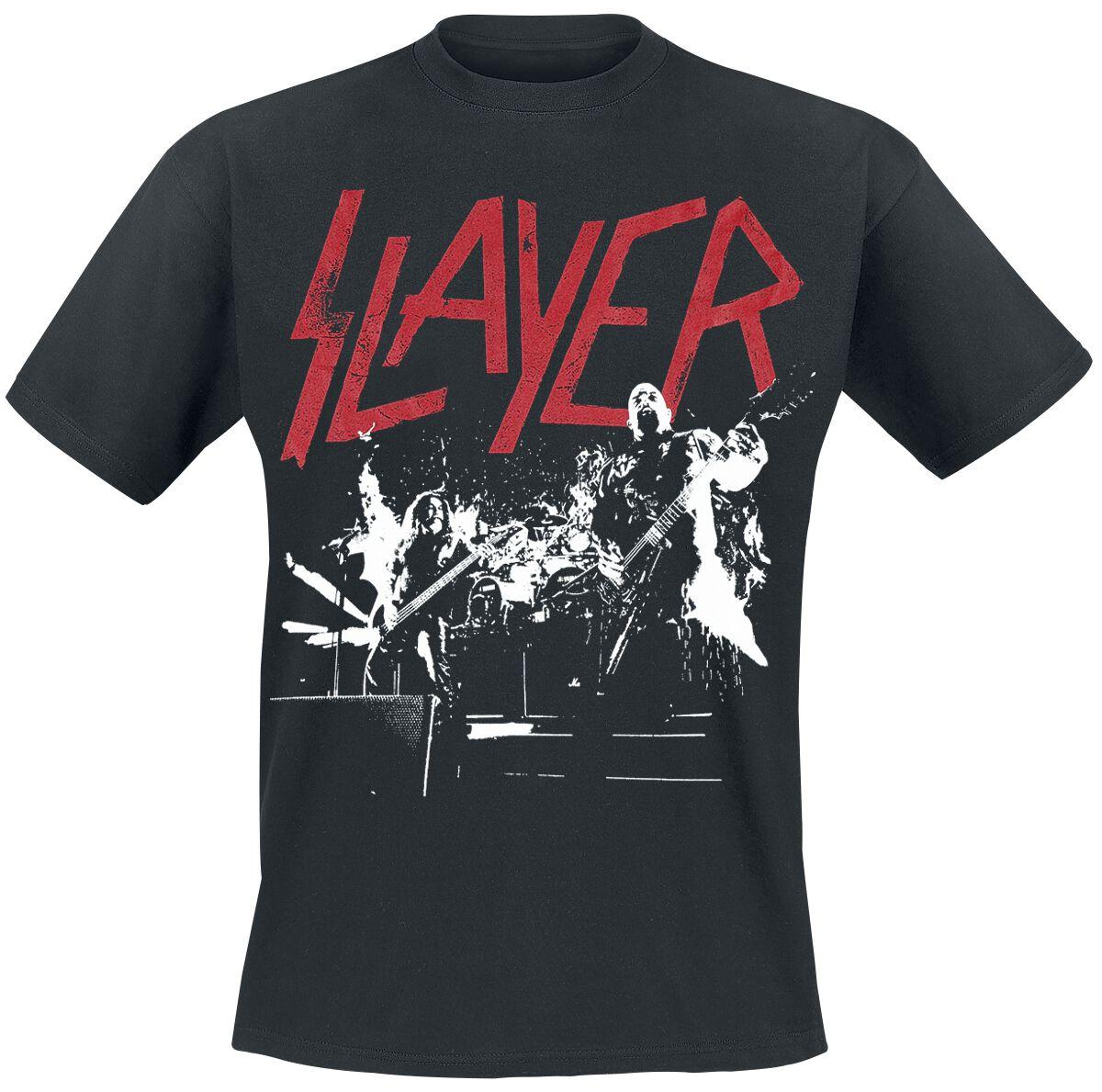 Image of   Slayer Live Est. 1981 T-Shirt sort