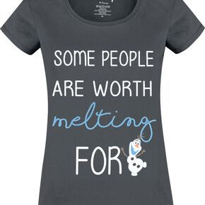 Frozen Olaf - Some People T-shirt Femme anthracite