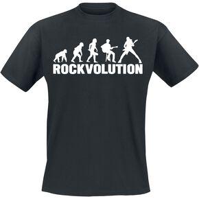 Rockvolution T-shirt noir