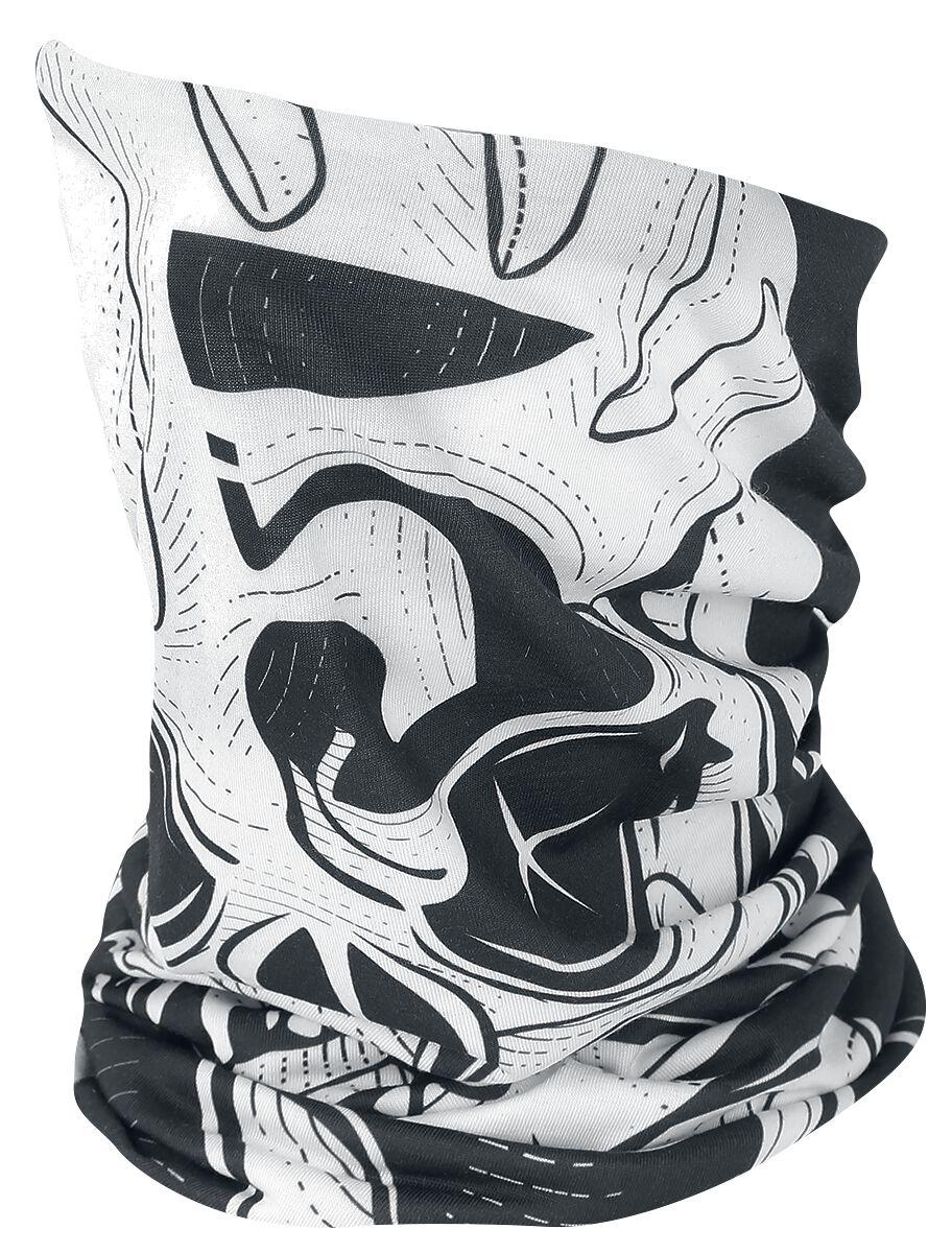 Image of   Five Finger Death Punch Punchagram Tube Scarf Rundt halstørklæde sort-hvid