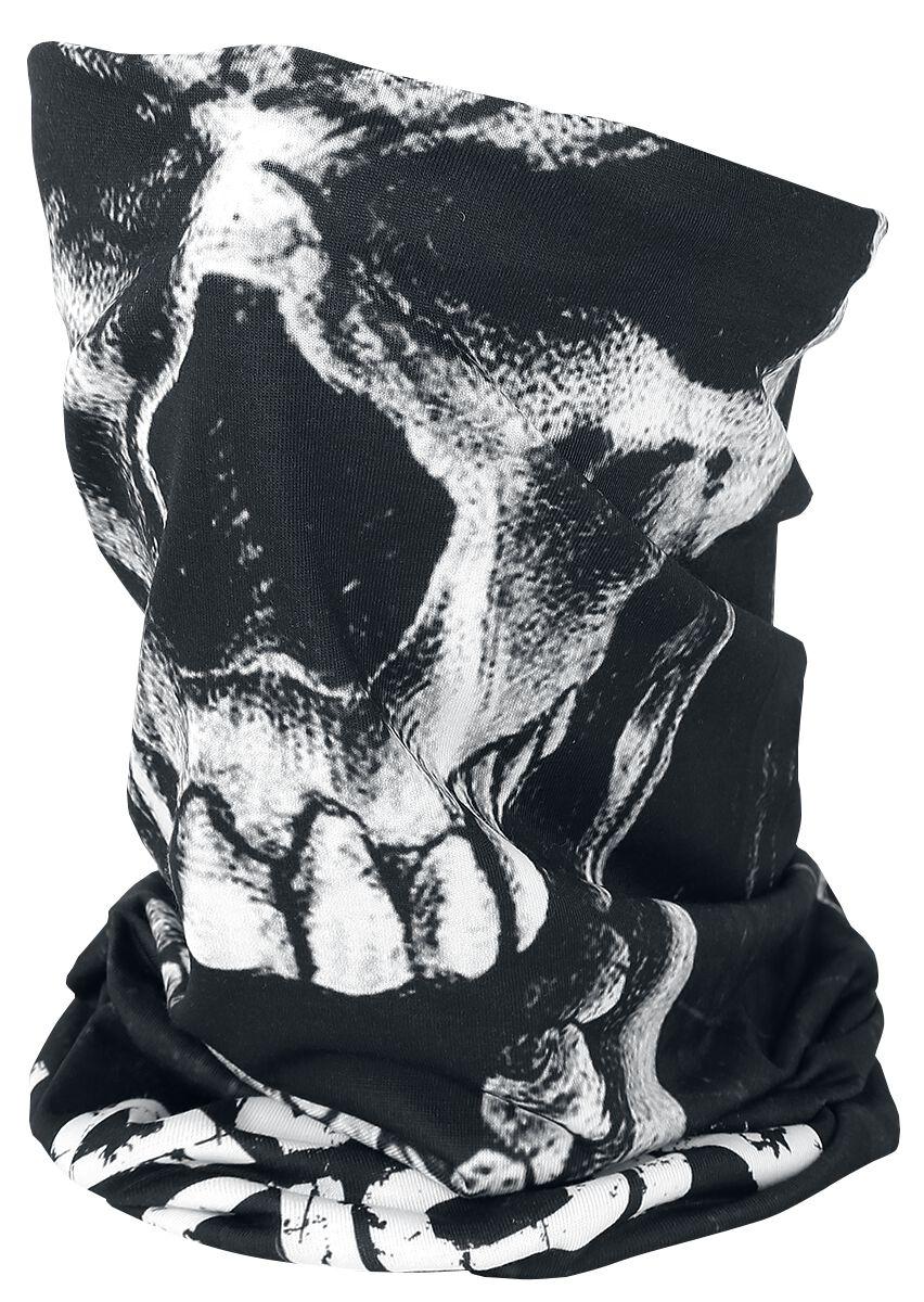 Image of   Slayer Slayer Nation Tube Scarf Rundt halstørklæde sort-hvid