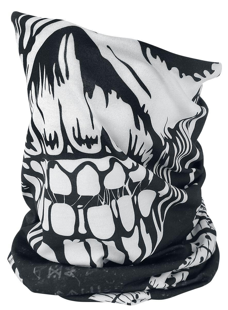 Image of   Iron Maiden Eddie Tube Scarf Rundt halstørklæde sort-hvid