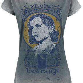 Les Animaux Fantastiques Les Crimes De Grindelwald - Leta Lestrange T-shirt Femme gris