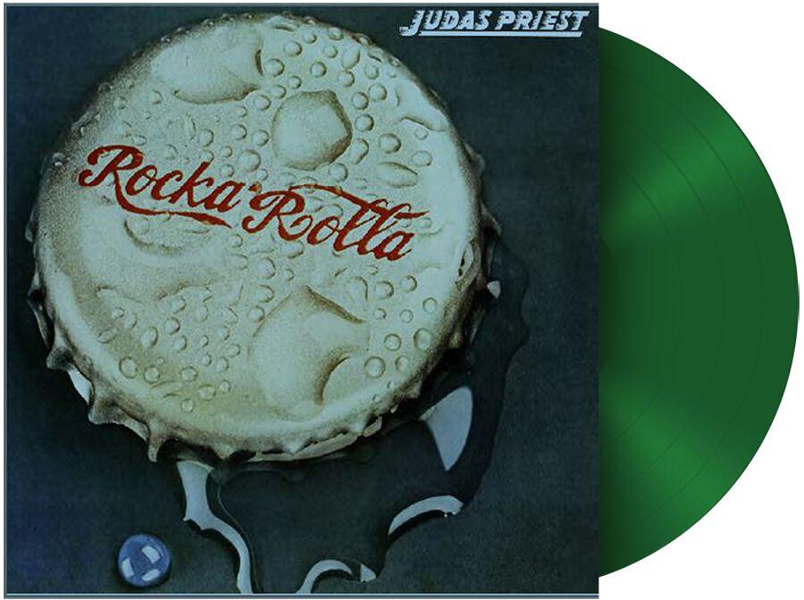Image of   Judas Priest Rocka rolla LP grøn