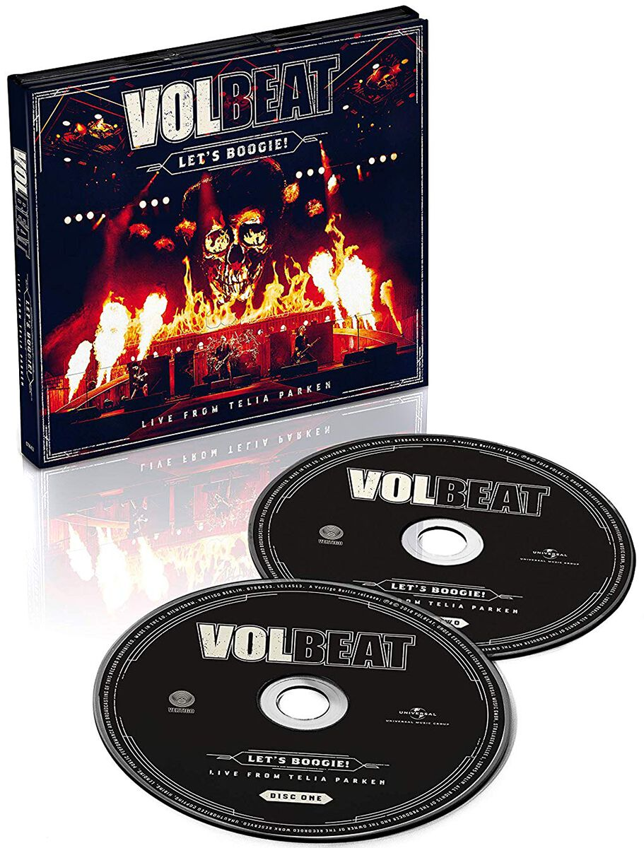 Image of   Volbeat Let's Boogie (Live from Telia Parken) 2-CD standard