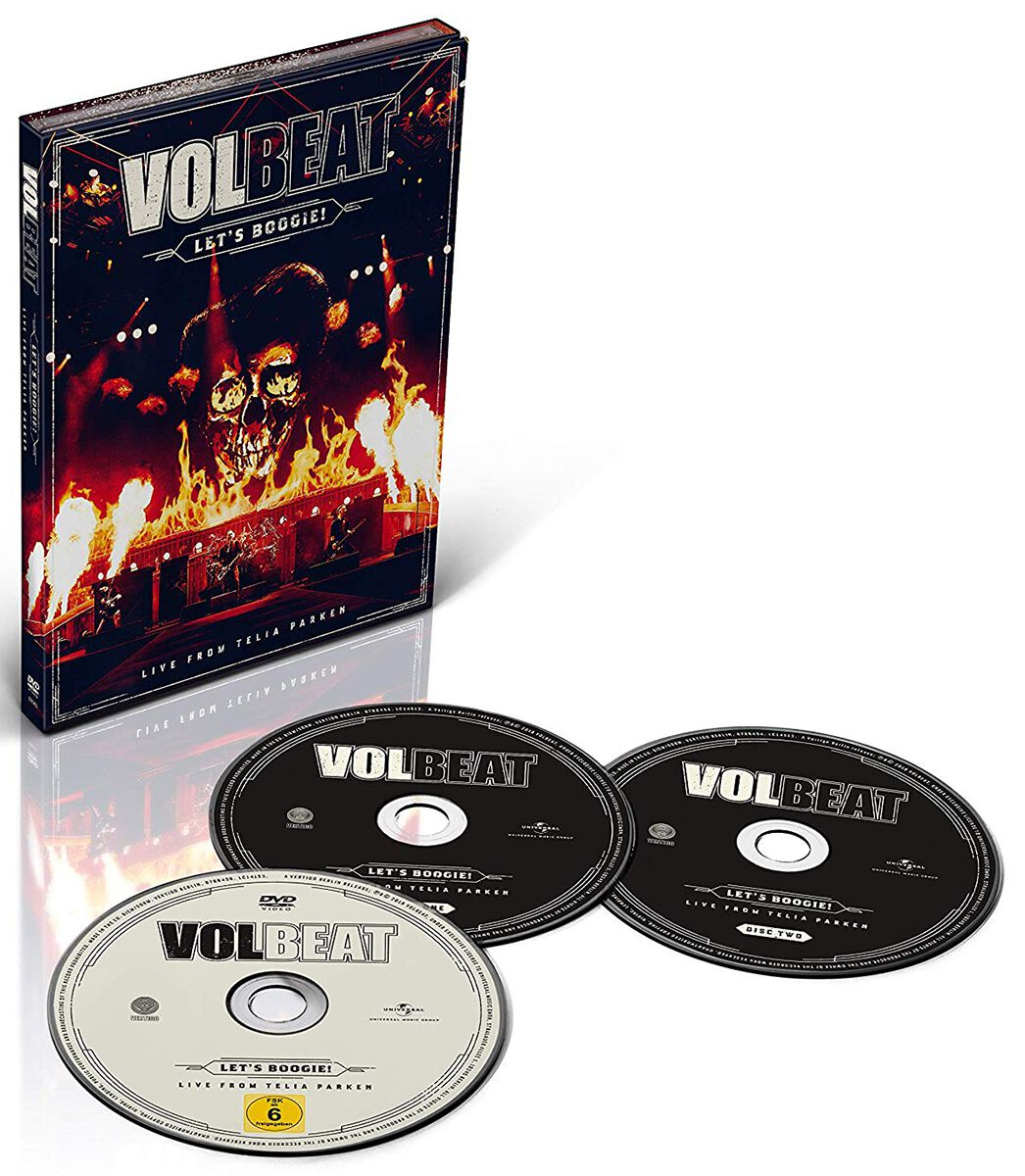 Image of   Volbeat Let's Boogie (Live from Telia Parken) 2-CD & DVD standard