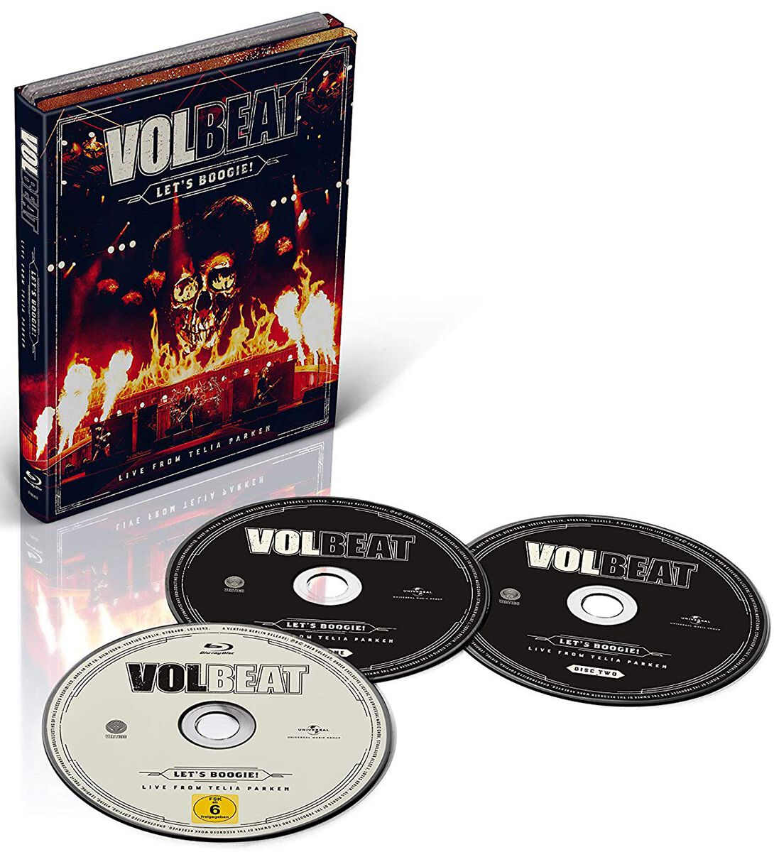 Image of   Volbeat Let's Boogie (Live from Telia Parken) 2-CD & Blu-ray standard