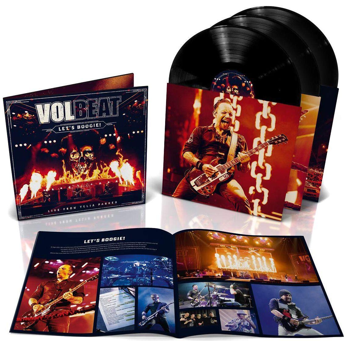 Image of   Volbeat Let's Boogie (Live from Telia Parken) 3-LP standard