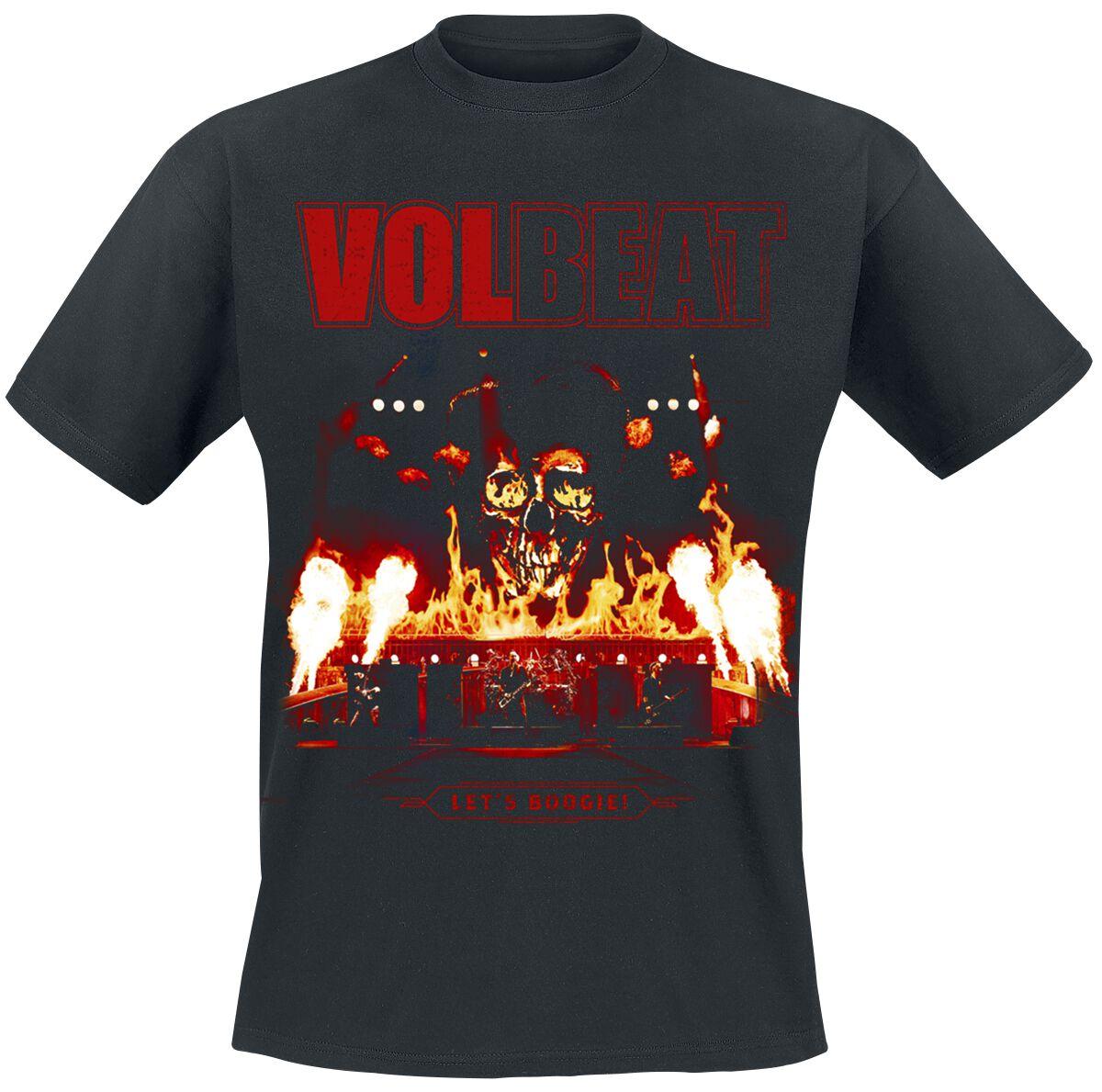 Image of   Volbeat Let It Burn T-Shirt sort