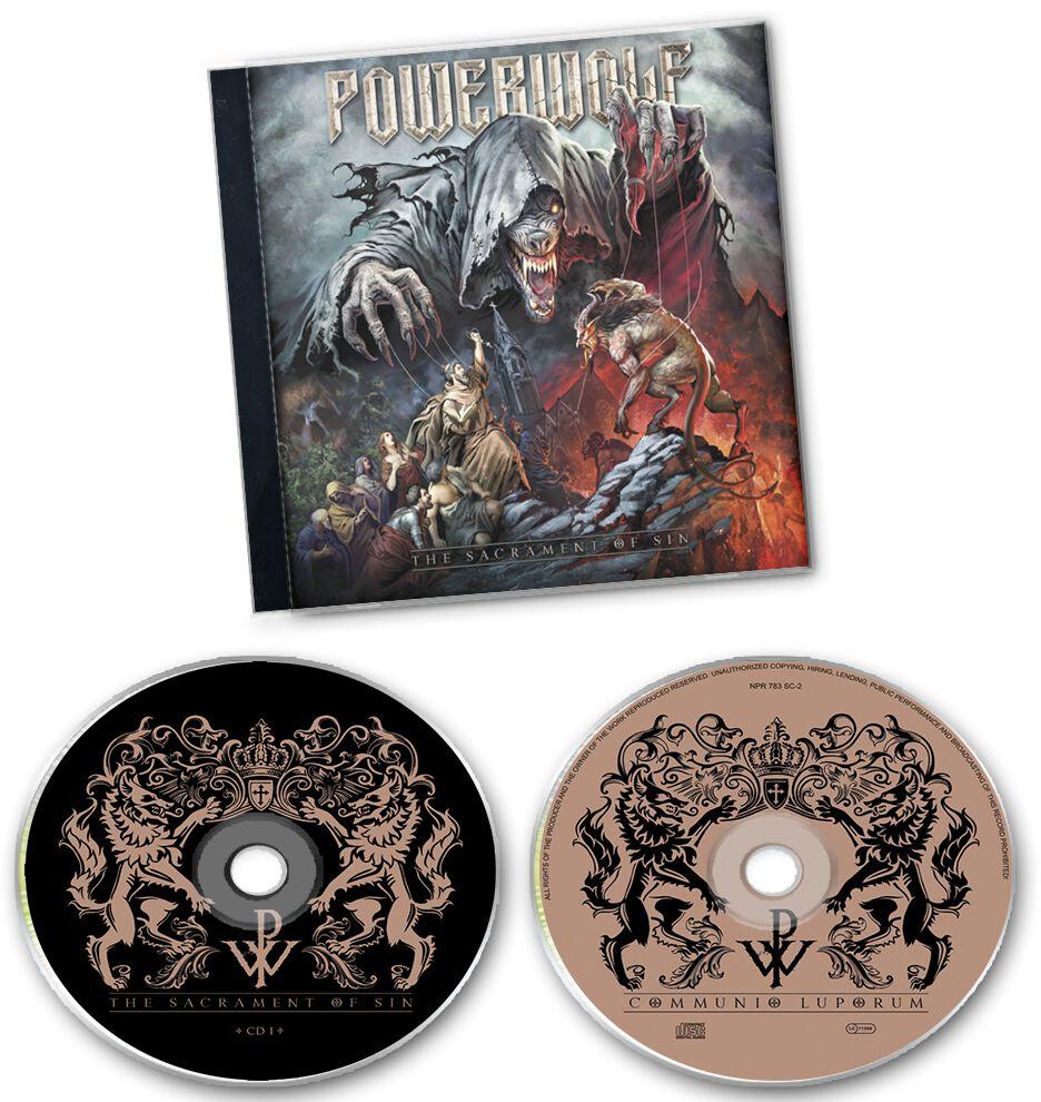 Image of   Powerwolf The sacrament of sin 2-CD standard