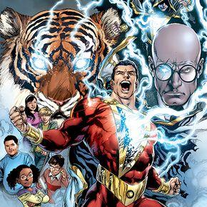 Shazam The Power Of Shazam Poster multicolore