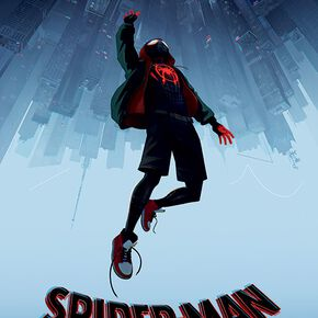 Spider-Man Into The Spider-Verse (Fall) Poster multicolore
