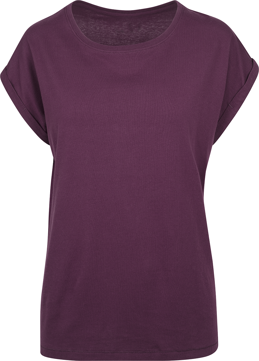 RED by EMP - Ladies Extended Shoulder Tee - Girls shirt - red image