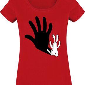 Schattenspiel T-shirt Femme rouge