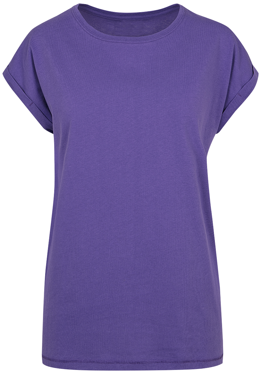 RED by EMP - Ladies Extended Shoulder Tee - Girls shirt - violet image
