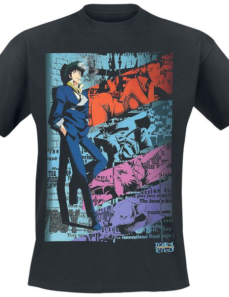 Cowboy Bebop Spike T-shirt noir