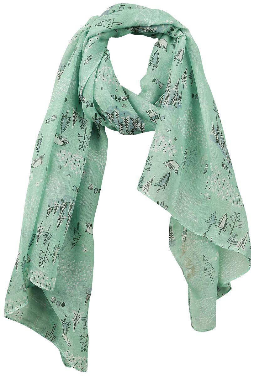 Schals für Frauen - Winnie Pooh Forest Schal multicolour  - Onlineshop EMP