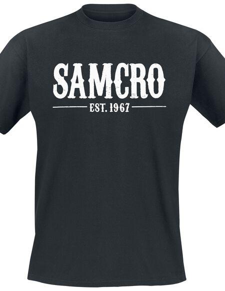 Sons Of Anarchy Samcro - EST. 1967 T-shirt noir