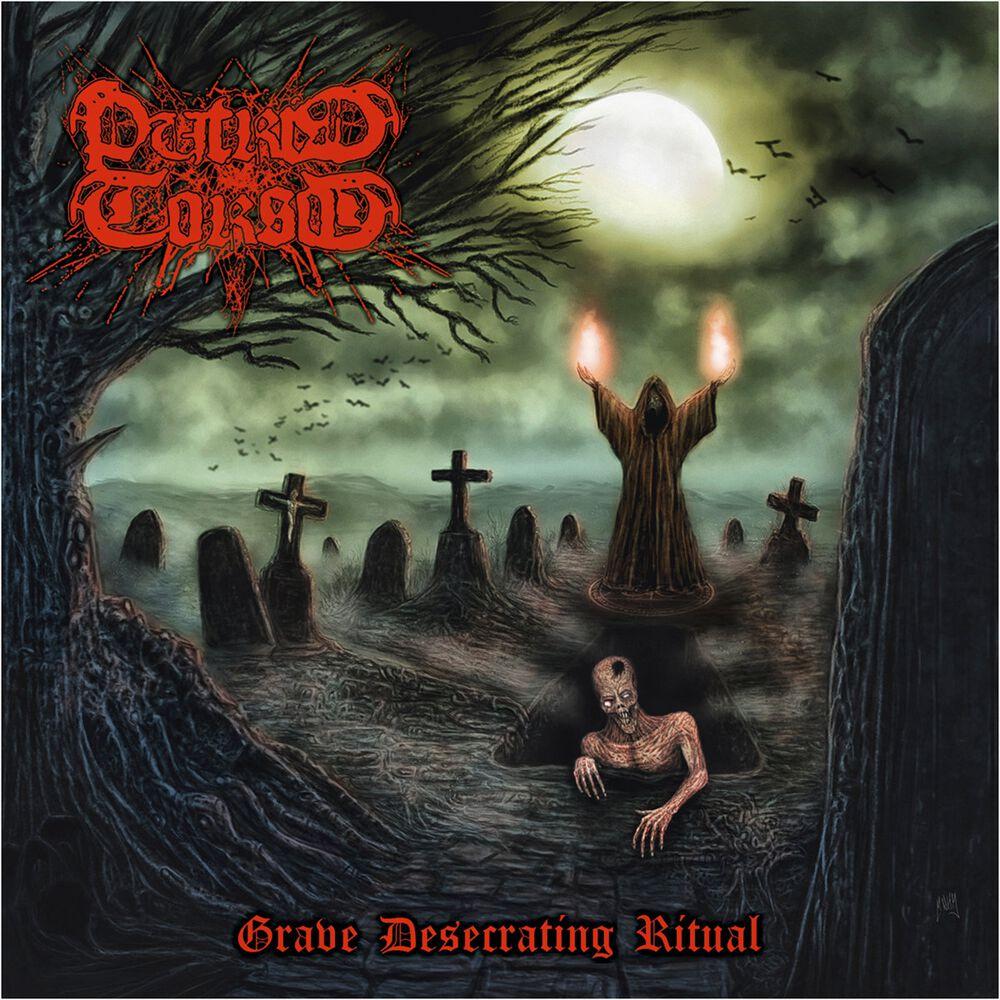 Image of   Putrid Torso Grave desecrating ritual CD standard