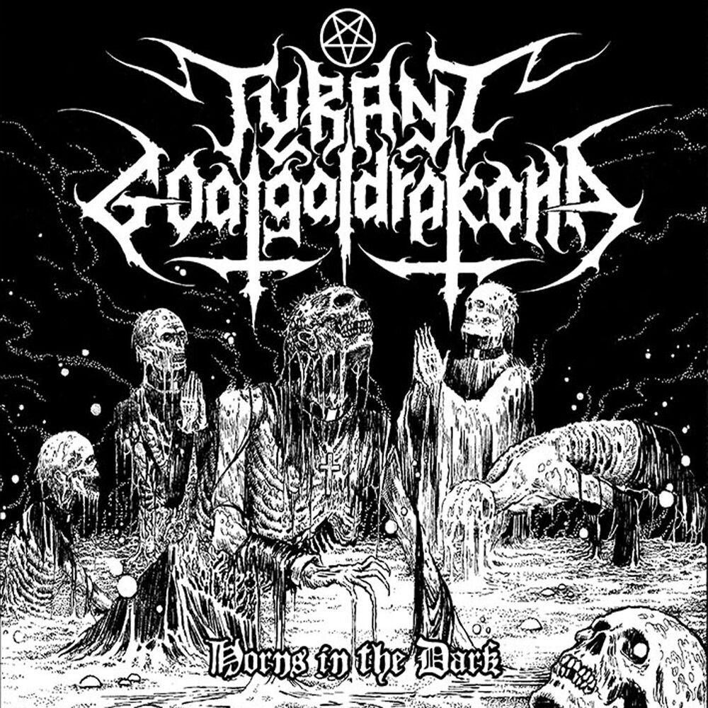 Image of   Tyrant Goatgaldrakona Horns in the dark CD standard