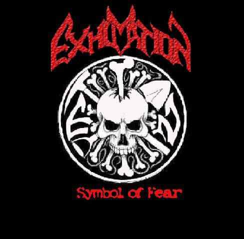 Image of   Exhumation Symbol of fear CD standard