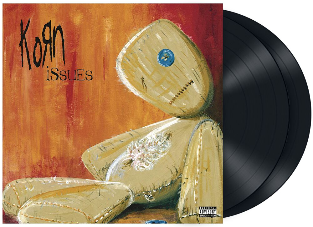 Image of   Korn Issues 2-LP standard