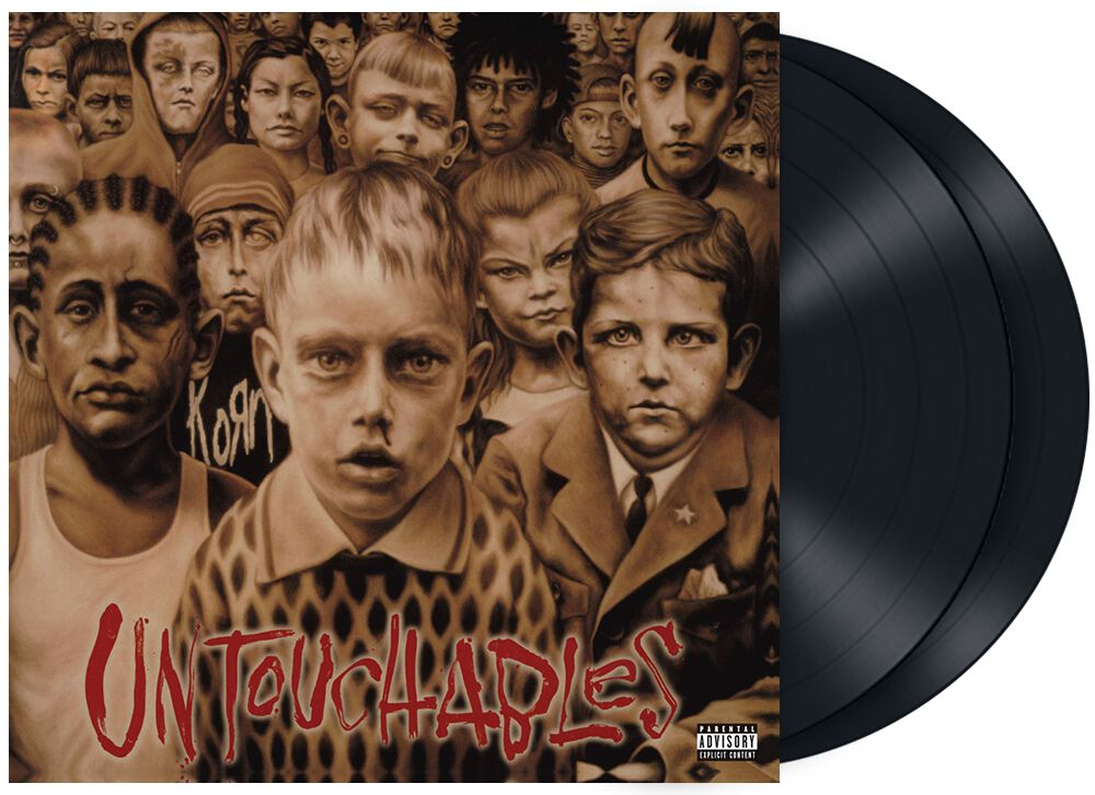 Image of   Korn Untouchables 2-LP standard